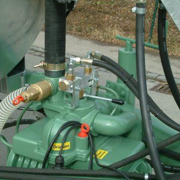 hydraulische kompressorumschaltung