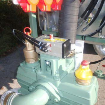 pneumatische Kompressorumschaltung